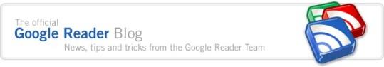 Offical Google Reader Blog