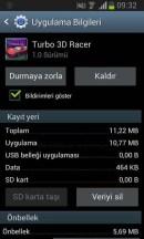 turdo 3D racer uygulama bilgisi