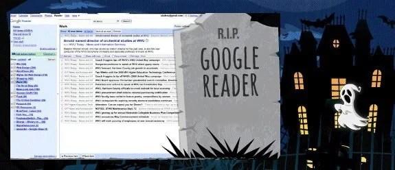 R.I.P Google Reader