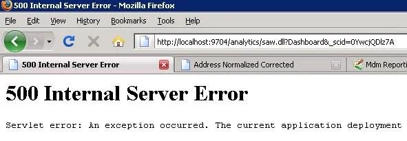 500 Internal Server Error hatası nedir