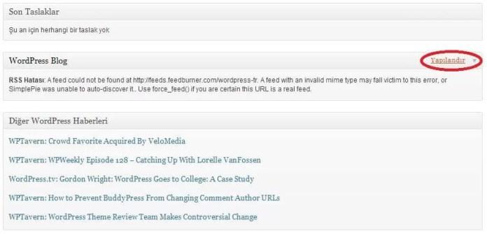 """WordPress """"RSS Hatası A feed could not…"""" Çözümü"""