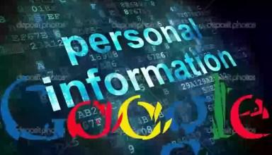 Google dan Kisisel Bilgileri Silmenin Yollari