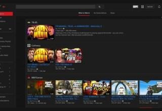 YouTube Gizli Siyah Tema Aktif Etme