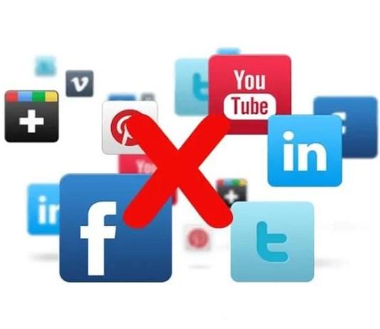 Facebook, Twitter, Google, LinkedIn, Dropbox Uygulama İzinleri kaldırma