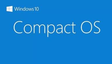 Windows 10'da Compact OS nedir ve Nasıl Kullanılır?