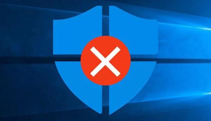 Windows Defender Nasıl Kapatılır Açılır