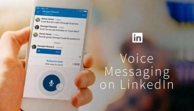 LinkedIn Sesli Mesajlaşma