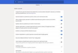 Windows 10'da Chrome Yüksek Disk Kullanımını Düzeltme