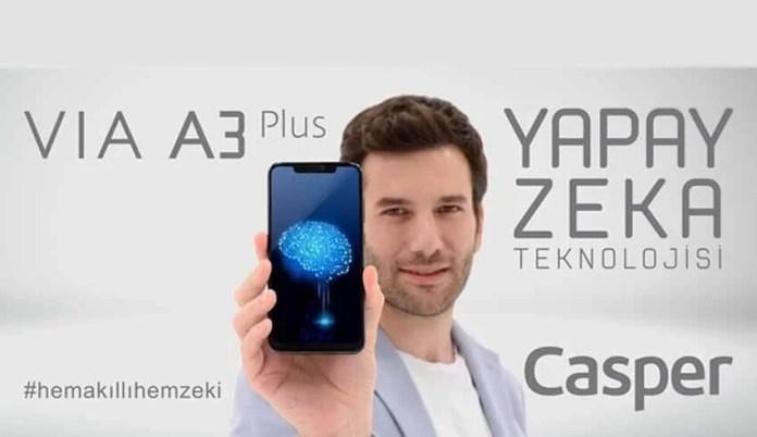 Casper'dan Yapay Zeka Teknolojisi: Casper VIA A3 Plus