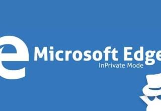 Microsoft Edge'de Gizli Modu Kapatma