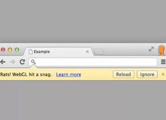 """Chrome'da """"Rats! webGL Hit A Snag"""" Onarma"""