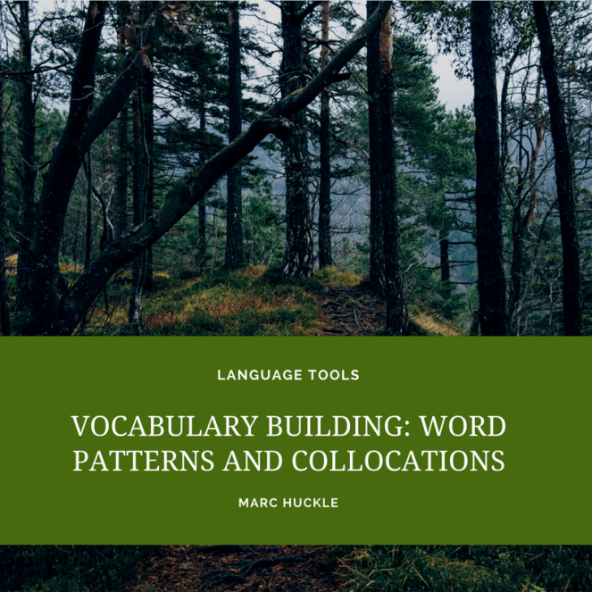 VOCABULARY BUILDING- WORD PATTERNS AND COLLOCATIONS