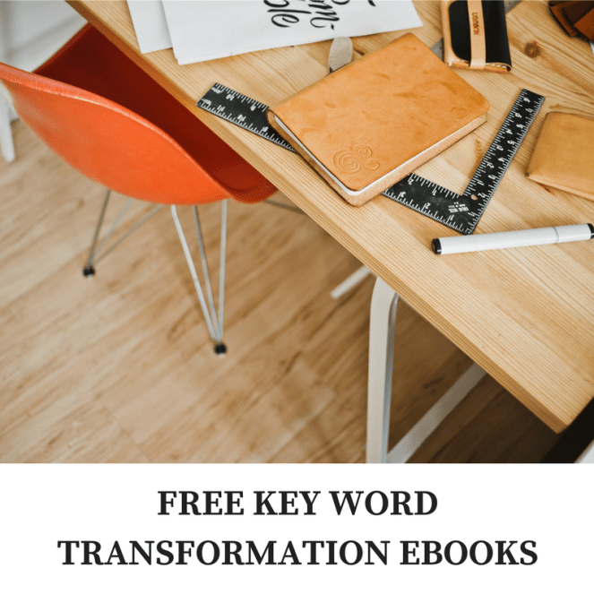 FREE KEY WORD TRANSFORMATION EBOOKS