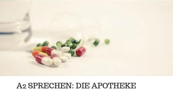 A2 SPRECHEN - Die Apotheke