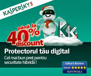 Kaspersky - Best antivirus solution, promotie 2011