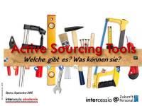 Active Sourcing Tools – ein Meinungsbild von der Zukunft Personal #zp15