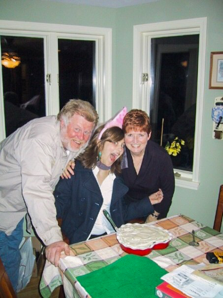 My parents and I on my 19th birthday