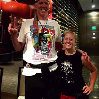 Set break with Bill Walton