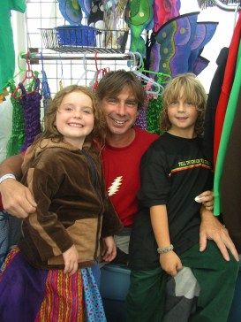 Happy Little Hippie family at Gathering of the Vibes 2006