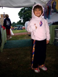 Little Hippie at Gathering of the Vibes 2007