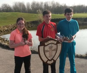 Breadsall Success in Derbyshire Junior Spring Cup