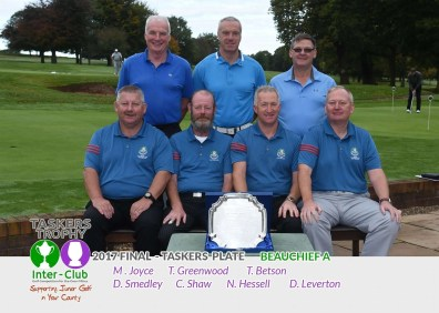 Beauchief - Taskers Plate Runners Up