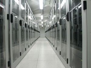 Rows of Computers