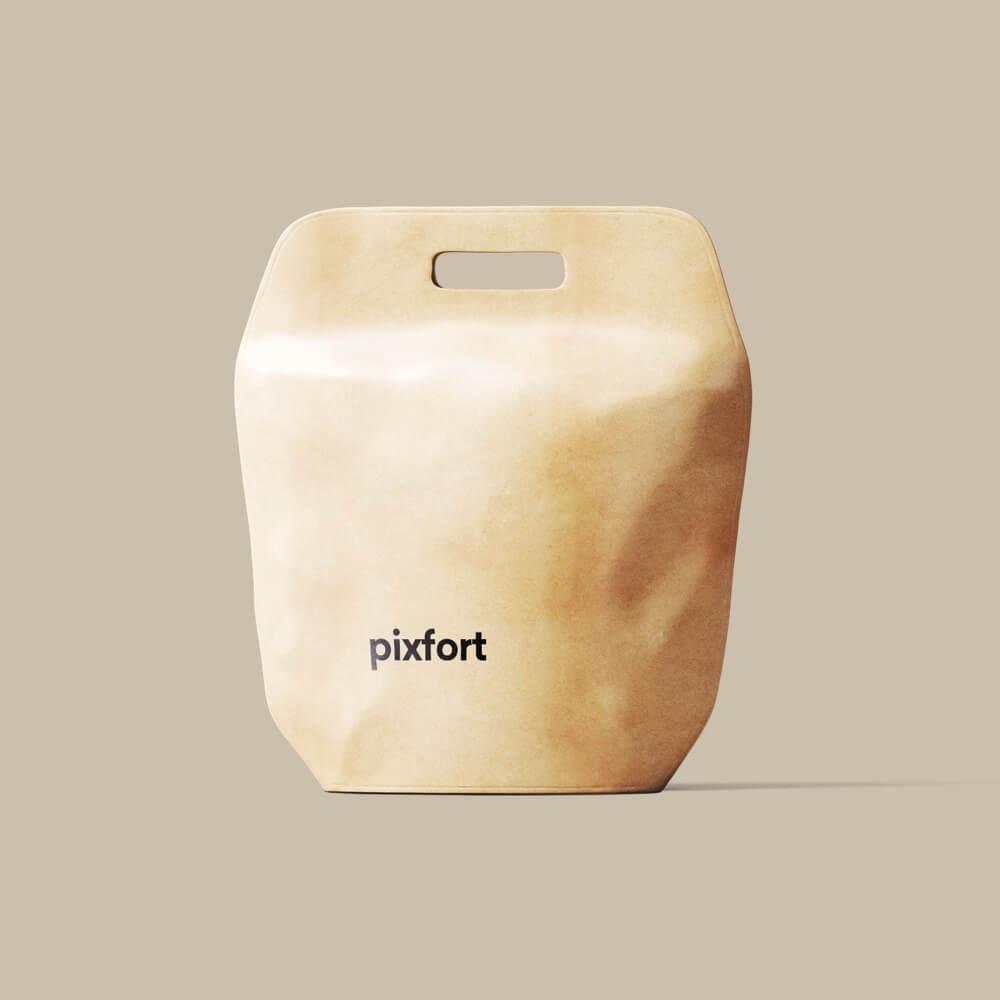 Pixfort Leather Bag