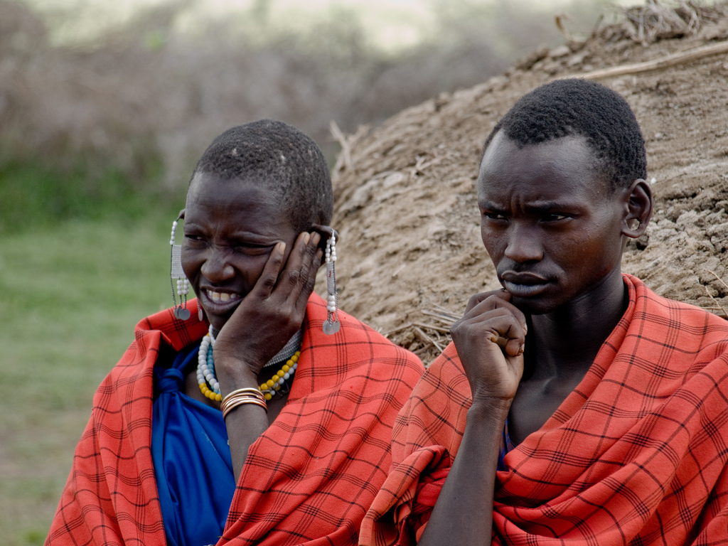 Maasai villagers in the Serengeti National Park, Tanzania [Credit: wwarby, on Flickr. Some Rights Reserved.]