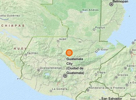 Location: Cobán, Alta Verapaz, Guatemala (OSM.org)