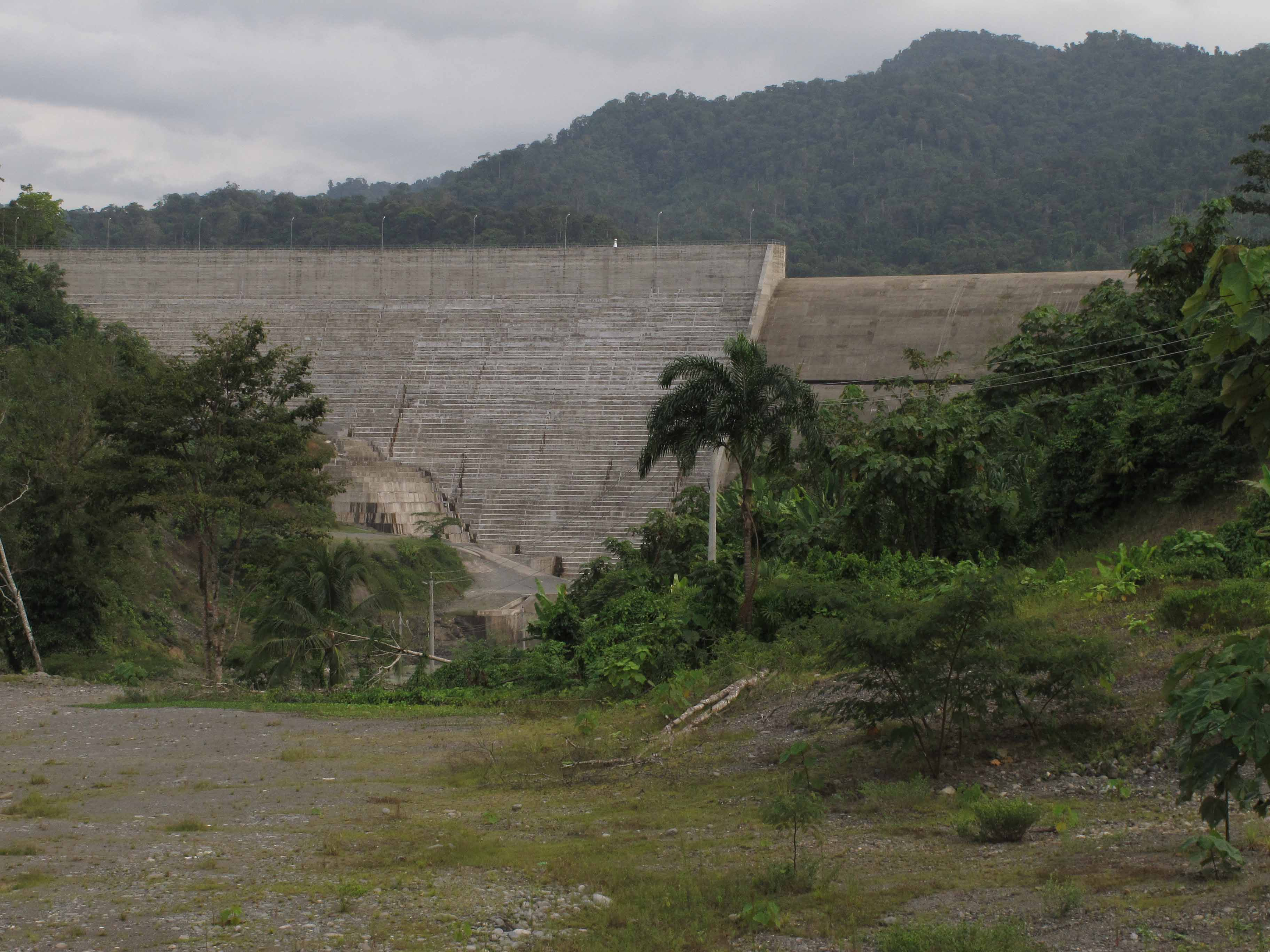 The Chan 75 Dam (Photo: Richard Arghiris)