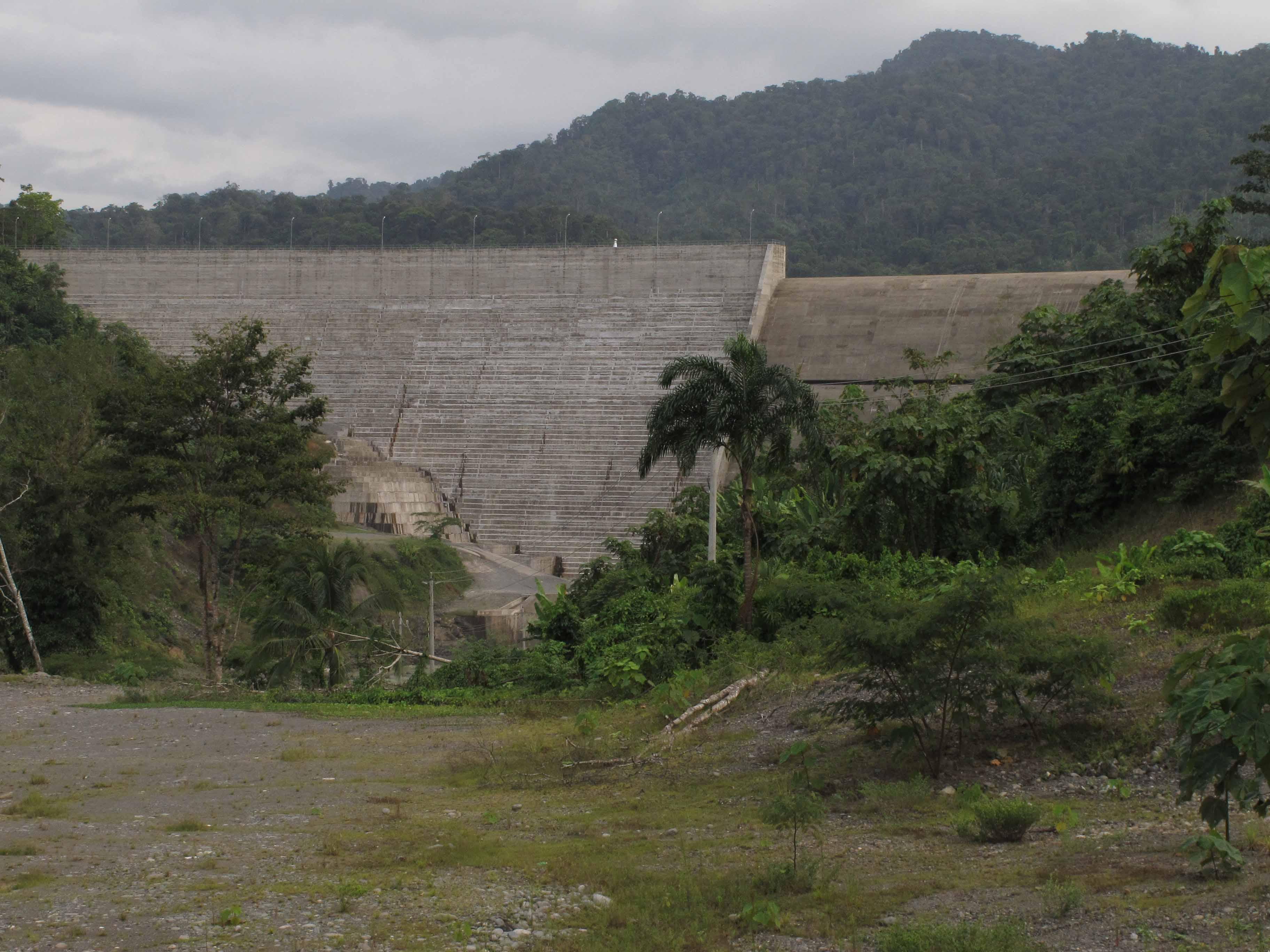 The Chan 75 Dam (Photo: Richard Arghiris)