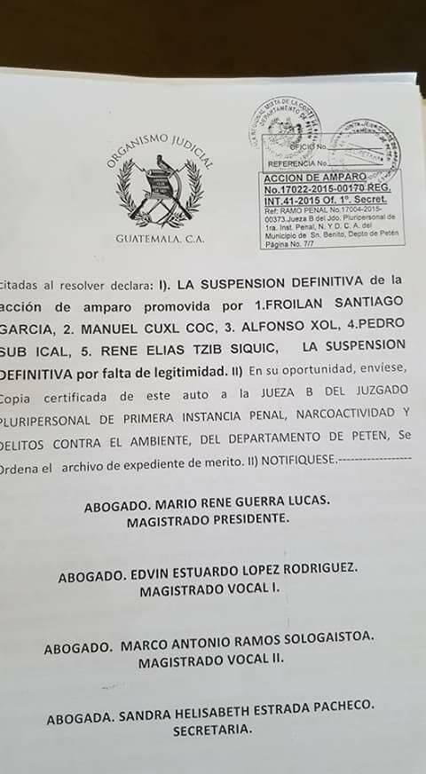 Document Photo: Prensa Comunitaria, 2015