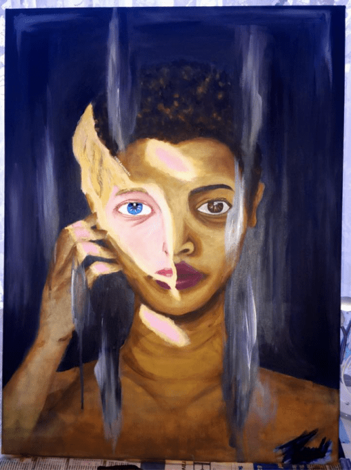 Painting of Face in Mirror by IC Adoptee.png