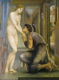 Pygmalion. Edward Burne-jones. 1878