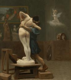 Pygmalion. Jean leon Gerome. 1890