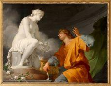 Pygmalion. Jean-Baptiste Regnault. 1786