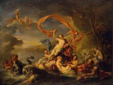 The Triumph of Galatea (Jean Baptiste Van Loo)
