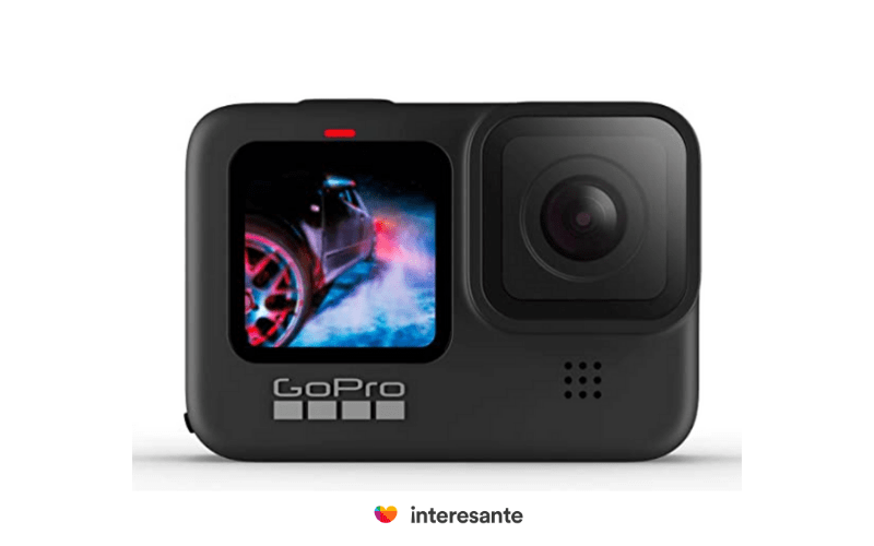 Cámara GoPro el gadget perfecto para los intrépidos, inmortaliza la aventura del día del amor y la amistad.