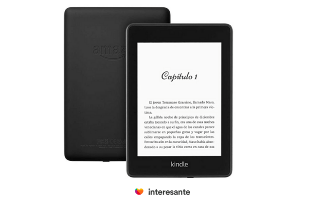 Kindle paperwhite para mamá
