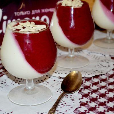 Десерт из Творога и Желатина. Десерт Птичье молоко.