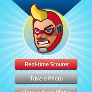 顔認識で戦闘力を計測できるiPhoneアプリ:スカウター Pro:戦闘力測定器