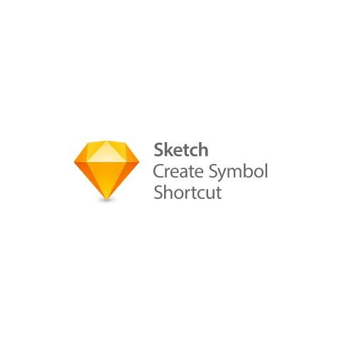 Sketchのショートカットに「Create Symbol」を追加。