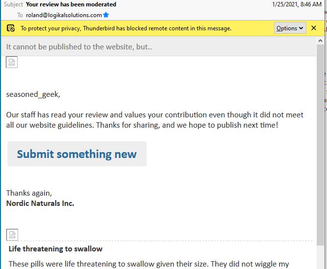 Beware Nordic Naturals Inc. Reviews