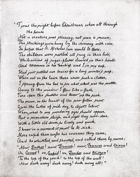 10 Great Christmas Poems Interesting Literature