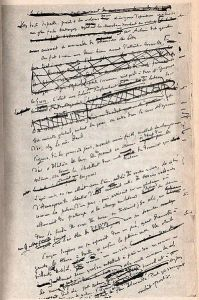 Flaubert manuscript
