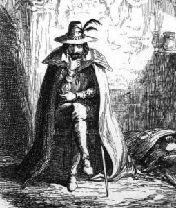 Guy Fawkes illustration