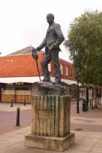 A. E. Housman statue