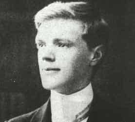 D H Lawrence aged 21