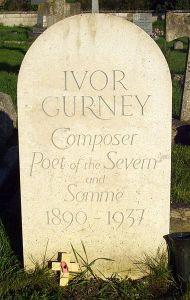 Ivor Gurney grave